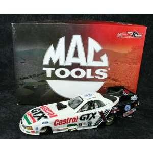 John Force Diecast Castrol GTX 1/24 2002 Black Wing Toys