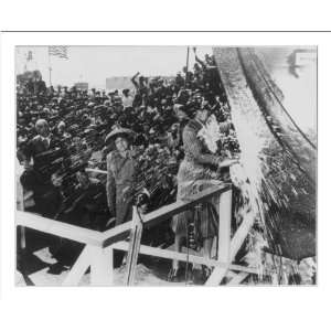Historic Print (M): Miss Marian Anderson, sponsor of the