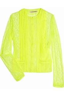 Christopher Kane Keke neon lace jacket   65% Off Now at THE OUTNET