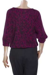 Vanessa Bruno Athé Angora blend animal print cardigan   50% Off Now