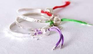 love peace joy silver friendship bracelets by cabbage white england
