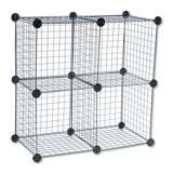 Safco Wire Cube Shelving System (Black)