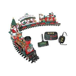 The Holiday Express Animated Electric Train Set at HSN