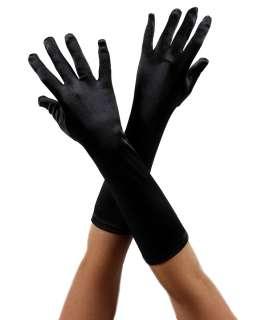 Gangster & Flapper / Black Satin Glove