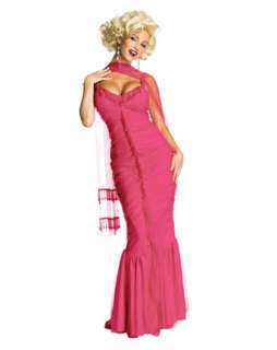 Marilyn Monroe Pink Dress Costume  Sexy TV & Movie Halloween Costumes