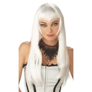 Halloween Costumes Vampiress Wig (White)