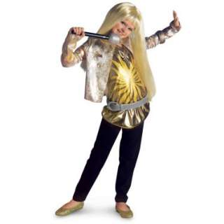 Hannah Montana Deluxe Gold Child Costume   Costumes, 38387