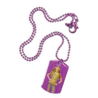 Hannah Montana Dog Tag Necklace   Costumes, 58020