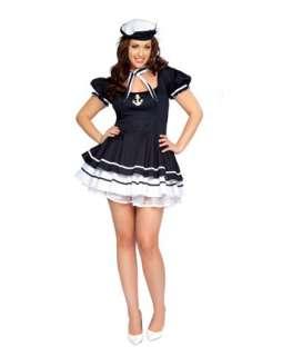 Sexy Sailor Sweetie Adult Plus Costume Item #RM4145