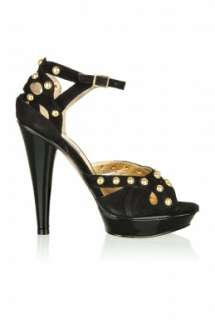 Black Kerrin Suede Studded Shoe by Steve Madden   Black   Buy Shoes