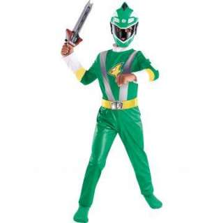 Power Rangers Green Ranger Classic Toddler/Child Costume   Includes