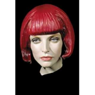 Adult Beebop Rubber Wig   Halloween Costume Wigs   15DU1360