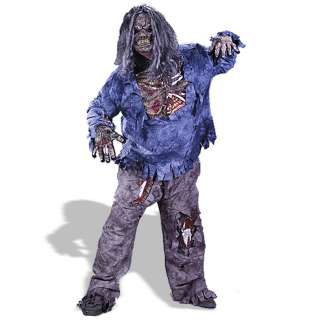 Complete Zombie Plus Adult Costume   Includes Pants with Zombie thigh