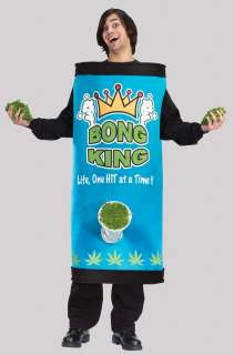 Adult Bong King Costume   Funny Halloween Costumes   15FW5451