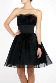 Manoush  Black Strapless Marilyn Dress by Manoush
