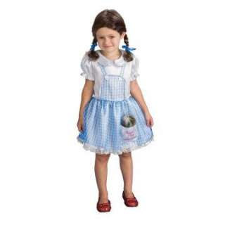 Wizard of Oz Dorothy Toddler/Child Costume   Includes dress, hair bows