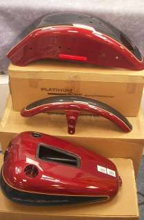 Harley Davidson FXSTD Softail DEUCE Paint Set ~ GAS TANK, FRONT + REAR