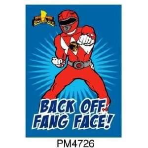 Magnet   Power Rangers   Red Ranger Toys & Games