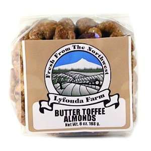 Lyfonda Farm Butter Toffee Almonds  Grocery & Gourmet Food