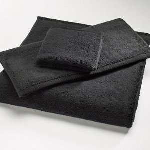 Microcotton Luxury 6 Piece Towel Set in Black