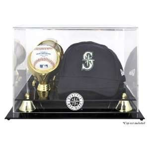 Cap and Baseball Logo Display Case   Baseball Cap Display Cases