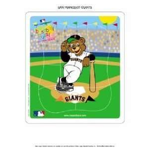 Giants Kids/Childrens Team Mascot Puzzle MLB Baseball Toys & Games