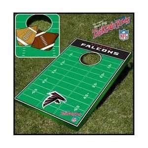 Falcons NFL Football Field Bean Bag Toss Game