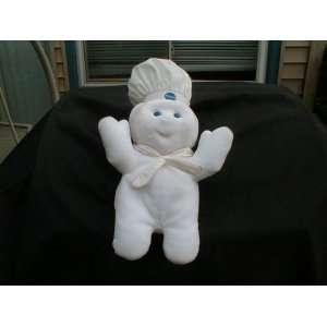1997 Pillsbury Dough Boy   Cloth Beanie Baby