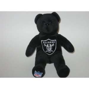 RAIDERS Team Logo Plush 8 TEDDY BEAR / BEANIE BABY Toys & Games