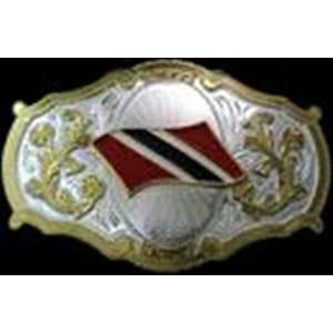 Jumbo Verticle Gold and Silver Finishing Belt Buckle Everything Else