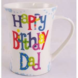 happy birthday dad fine china gift mug kitchen home
