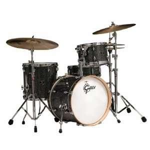 Gretsch Drums Catalina Club CC J484 GBS 4 Piece Drum Set Galaxy Black