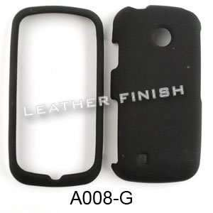 com LG Cosmos Touch VN270 Honey Black, Leather Finish Hard Case/Cover