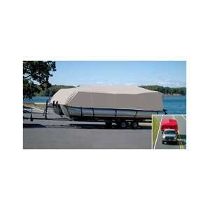 Pontoon Boat Cover for 226 deck, width 102 Everything