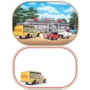 Coca Cola Sign of Good Taste Placemats   Set of 4
