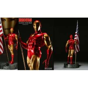 Classic Iron Man 14 scale Comiquette from Sideshow