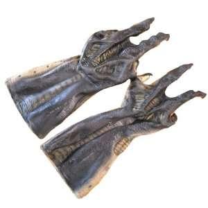 Lets Party By Rubies Costumes Alien vs. Predator Alien Gloves / Black