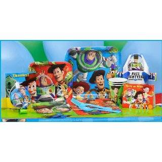 Toy Story 3 Party Supplies Tableware for 16 Guests [Toy] [Toy]