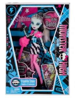 Justice   Monster High Frankie Stein Dance Doll