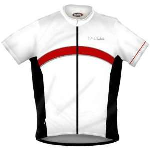 com Primal Wear Mens Black Lable White Original Short Sleeve Cycling