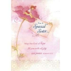 Sister   Birthday Card (Dayspring 3959 8): Health & Personal Care