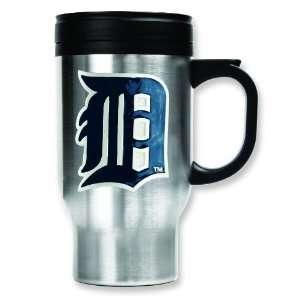 MLB Detroit Tigers Stainless Steel Travel Mug 16oz