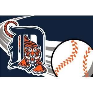 MLB Detroit Tigers 20x30 Tufted Rug