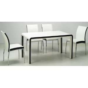 Collection Modern Dining Room Set Table and 4 Side
