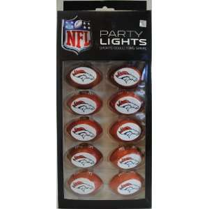 Denver Broncos NFL Football Party Lights