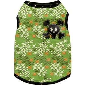PETCO DOG 101 Camo Skull Tank for Dogs Small:  Pet Supplies