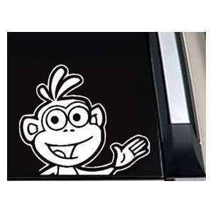Boots Waving Dora The Explorer Car Window Decal Sticker