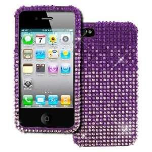 EMPIRE Apple iPhone 4 / 4S Full Diamond Bling Hard Case