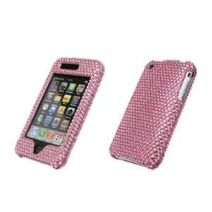 EMPIRE Pink Bling Diamond Snap On Cover Hard Case Cell Phone