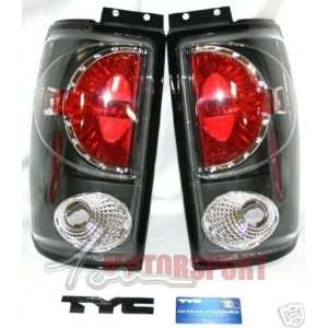 Ford Expedition Tail Lights Black TYC Taillights 1997 1998